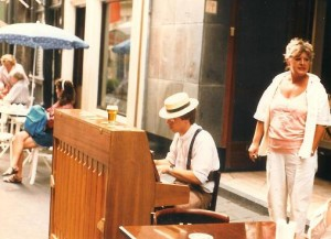 cafe de bestevaer - den haag 1986